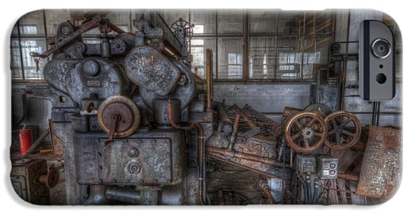 Creepy iPhone Cases - Paper mill iPhone Case by Nathan Wright