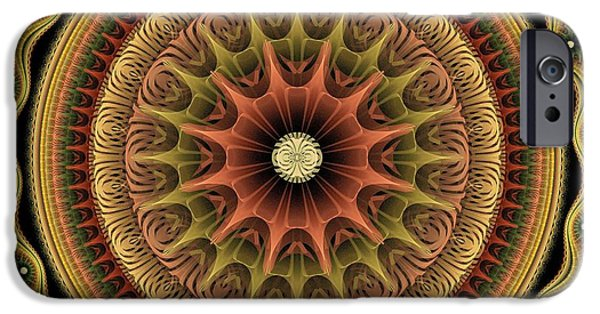 Mandala iPhone Cases - Paper Shield iPhone Case by Anastasiya Malakhova