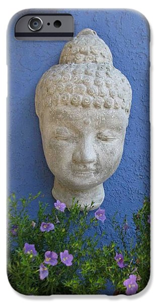 Zen Sculptures iPhone Cases - Papercrete Bliss iPhone Case by Hank Lerma