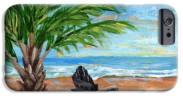 Aceo iPhone Cases - Paradise  iPhone Case by Darice Machel McGuire