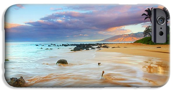 Landscape. Scenic iPhone Cases - PAradise Dawn iPhone Case by Mike  Dawson