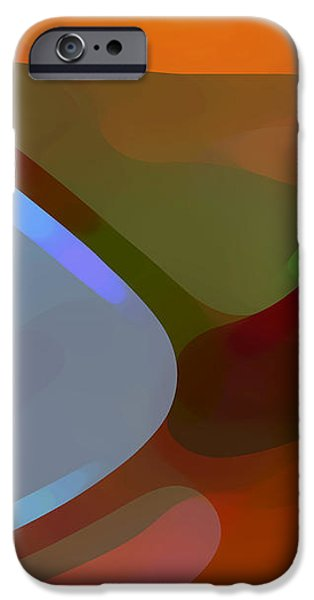 Abstract Movement iPhone Cases - Paradise Found 1 Panel A iPhone Case by Amy Vangsgard