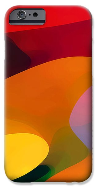 Abstract Movement iPhone Cases - Paradise Found 1 Panel C iPhone Case by Amy Vangsgard