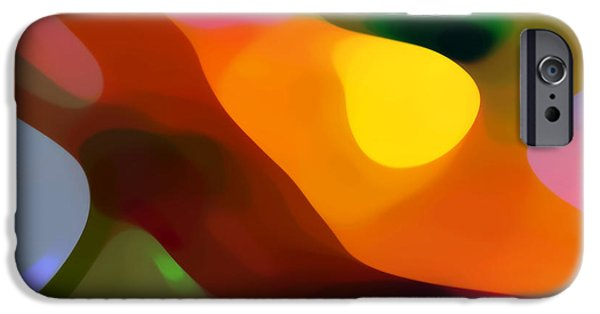 Abstract Movement iPhone Cases - Paradise Found 2 iPhone Case by Amy Vangsgard