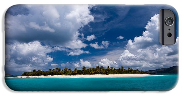 Best Sellers -  - Beach Landscape iPhone Cases - Paradise is Sandy Cay iPhone Case by Adam Romanowicz
