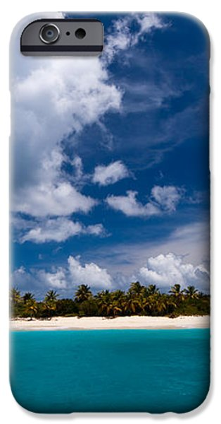 Paradise is Sandy Cay iPhone Case by Adam Romanowicz