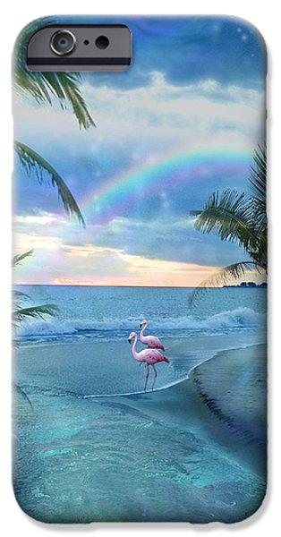 Alixandra Mullins iPhone Cases - Paradise Ocean iPhone Case by Alixandra Mullins