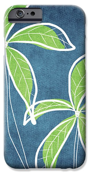 Paradise Palm Trees iPhone Case by Linda Woods