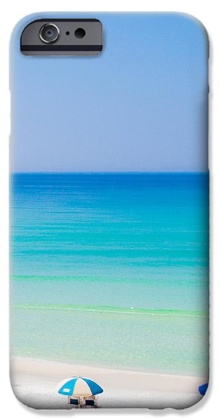 Beach Chair iPhone Cases - Paradise iPhone Case by Shelby  Young