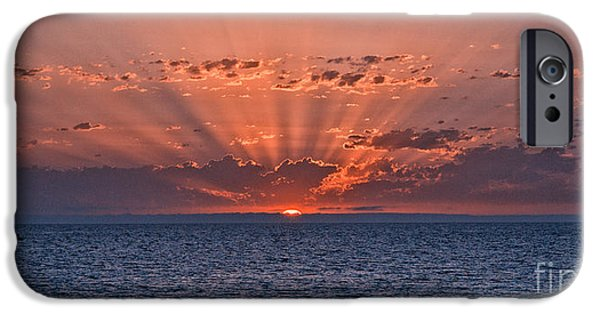 Photographs Tapestries - Textiles iPhone Cases - Paradise Sunset iPhone Case by Alberto Agrusa