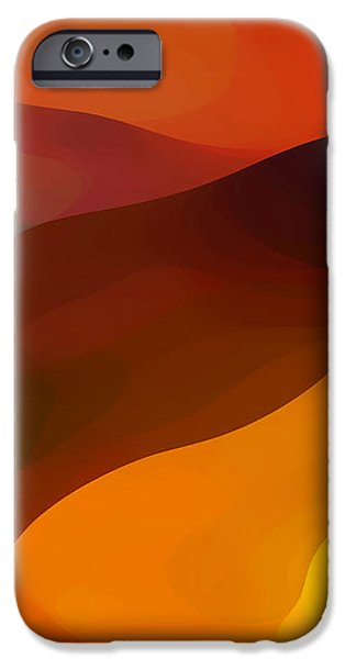 Abstractions iPhone Cases - Paradisr Found 1 Panel B iPhone Case by Amy Vangsgard