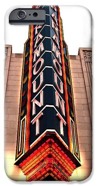 Paramount iPhone Case by John Rizzuto