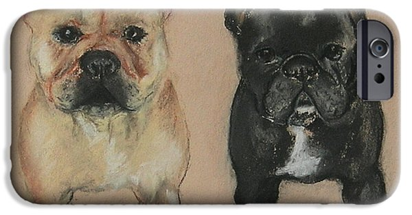 Puppy Pastels iPhone Cases - Pardon My French iPhone Case by Cori Solomon