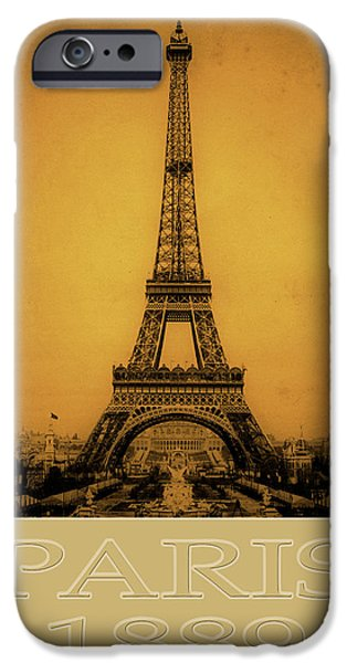 Paris 1889  iPhone Case by Andrew Fare