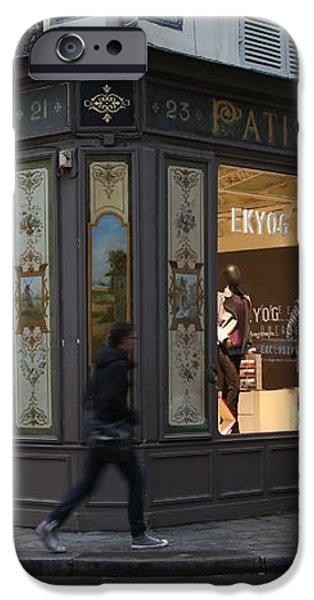 Parisian Evolution iPhone Case by Randi Shenkman