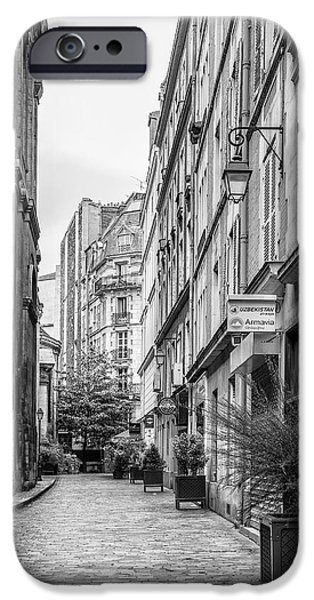 Parisian Street iPhone Case by Nomad Art And  Design