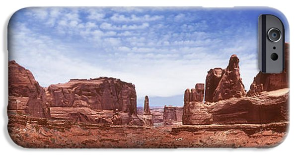 Red Rock iPhone Cases - Park Avenue - Utah iPhone Case by Mike McGlothlen