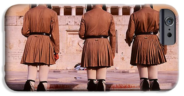 Bravery iPhone Cases - Parliament, Athens, Greece iPhone Case by Panoramic Images