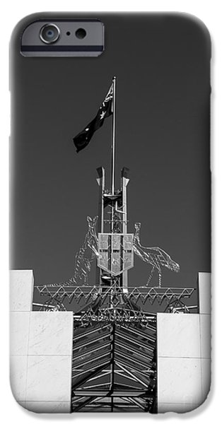 White House iPhone Cases - Parliament Entrance iPhone Case by Steven Ralser