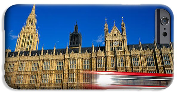 19th Century iPhone Cases - Parliament, London, England, United iPhone Case by Panoramic Images