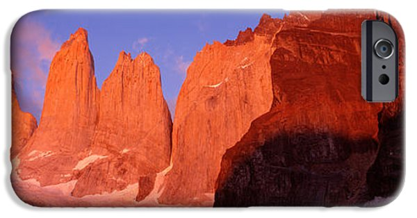 Chile iPhone Cases - Parque National Torres Del Paine iPhone Case by Panoramic Images