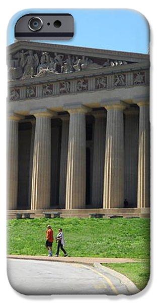 Parthenon in Nashville iPhone Case by Paula Talbert