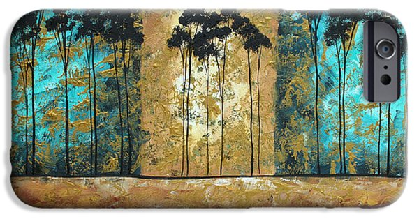 Rust iPhone Cases - Parting of Ways by MADART iPhone Case by Megan Duncanson
