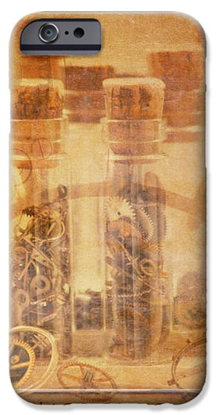 Parts of Time iPhone Case by Fran Riley