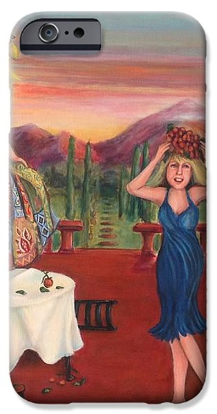 Party In Tuscany iPhone Case by Cathi Doherty