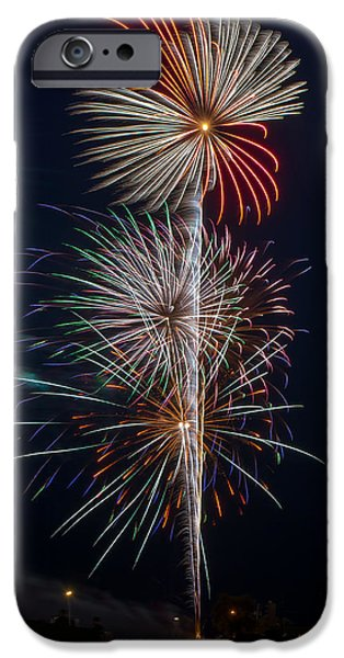 4th July iPhone Cases - Party Like Its 1776 iPhone Case by Bill Pevlor
