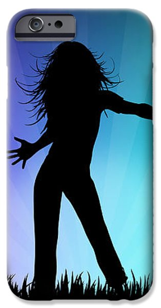 Party People iPhone Case by Aged Pixel