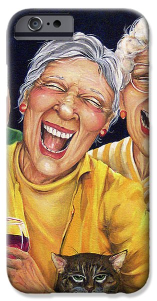 Party Pooper iPhone Case by Shelly Wilkerson