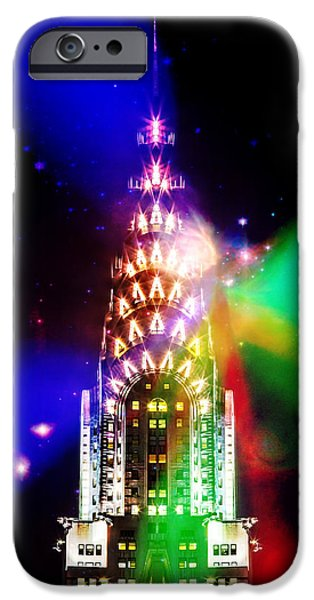 Ny Ny Digital Art iPhone Cases - Party Time iPhone Case by Az Jackson