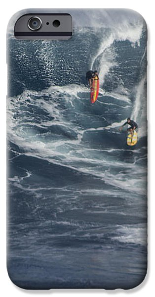 Party Wave at Jaws  iPhone Case by Brad Scott