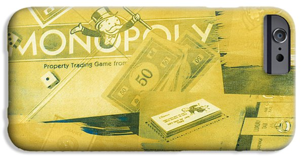 Monopoly iPhone Cases - Pass Go iPhone Case by Caitlyn  Grasso