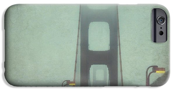 Golden Gate iPhone Cases - Passage iPhone Case by Jennifer Ramirez