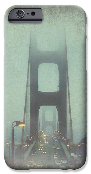 Bay Bridge iPhone Cases - Passage iPhone Case by Jennifer Ramirez