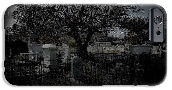 Recently Sold -  - Headstones iPhone Cases - Passage iPhone Case by Kathi Shotwell
