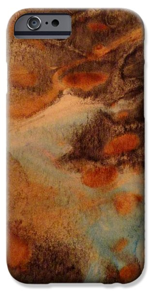 Michael Paintings iPhone Cases - Passage iPhone Case by Mike Breau