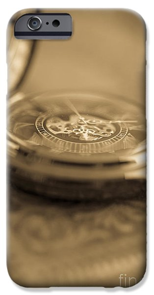 Blurred iPhone Cases - Passing Time iPhone Case by Edward Fielding
