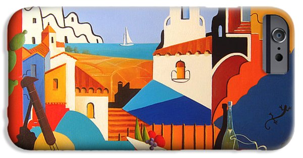 Malaga iPhone Cases - Passion For Life iPhone Case by Joe Gilronan
