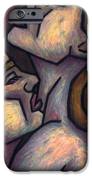 Surrealism Pastels iPhone Cases - Passion iPhone Case by Kamil Swiatek