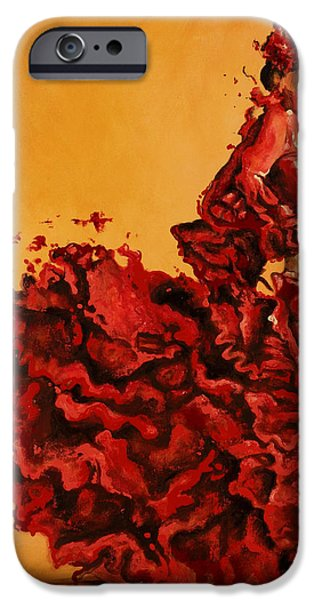 Passion iPhone Case by Karina Llergo Salto