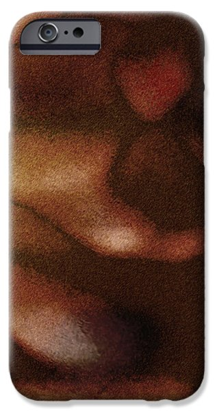 Passionate Heart iPhone Case by James Barnes