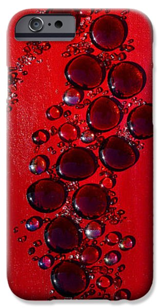 Modern Abstract iPhone Cases - Passions Angel iPhone Case by Donna Blackhall