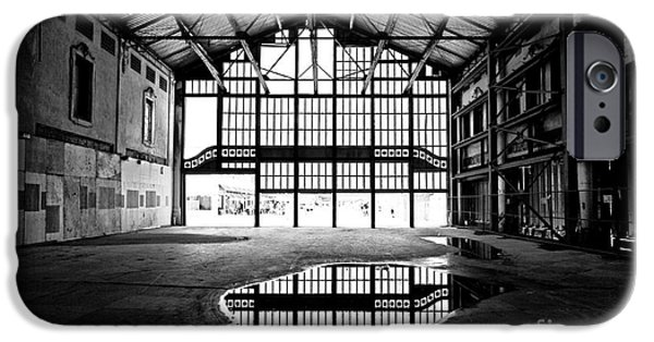 Asbury Park Casino iPhone Cases - Past Reflections iPhone Case by John Rizzuto