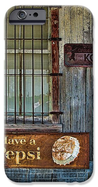 Past Vices iPhone Case by Wendy J St Christopher