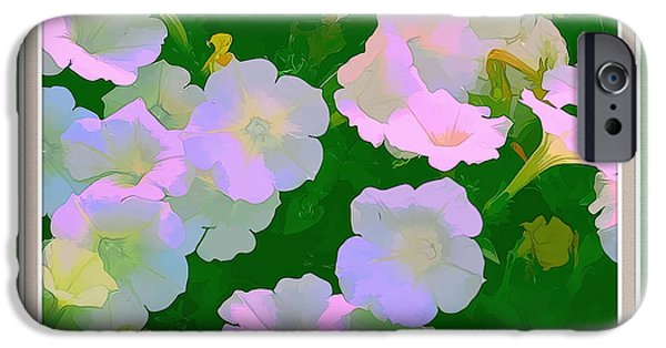 Artistic Photography iPhone Cases - Pastel Flowers II iPhone Case by Tom Prendergast
