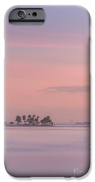 Park Scene iPhone Cases - Pastel Islands In The Gulf iPhone Case by Marvin Spates