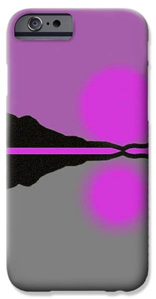 Pastel Sunrise iPhone Case by George Pedro